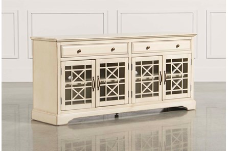 Annabelle Cream 70 Inch TV Stand - Main
