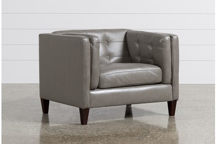 Ingrid Leather Chair - Main
