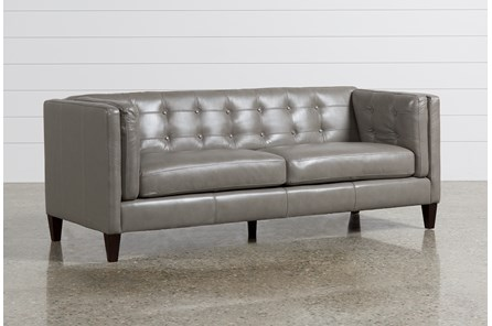 Ingrid Leather Sofa - Main