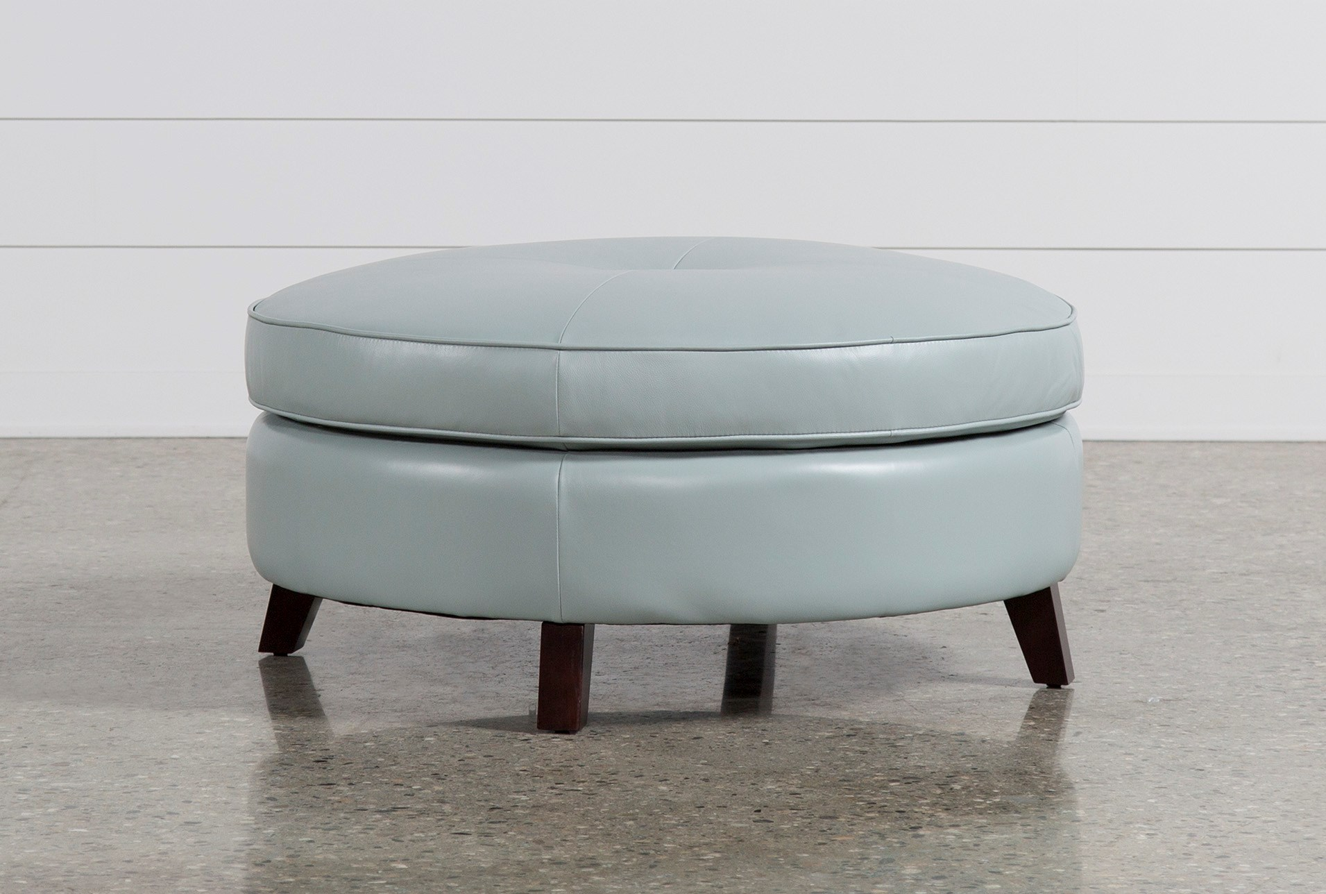 added to cart phoebe blue cocktail ottoman . phoebe blue cocktail ottoman  living spaces