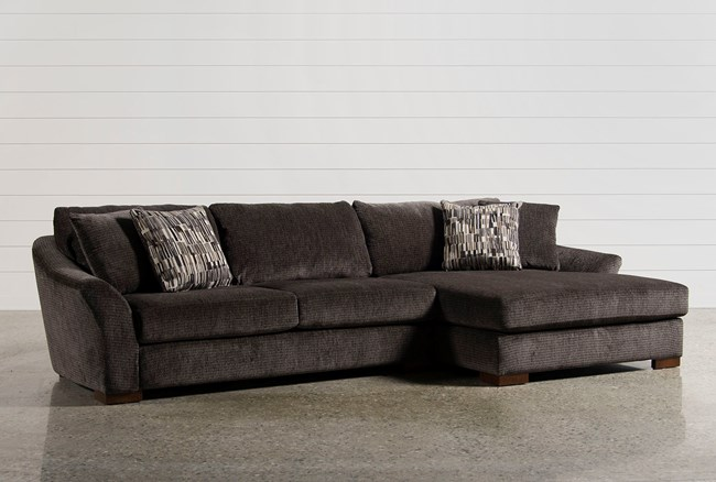 Fresh Evan 2 Piece Sectional W Raf Chaise 360 Fresh - Simple sectional sofa with chaise Elegant