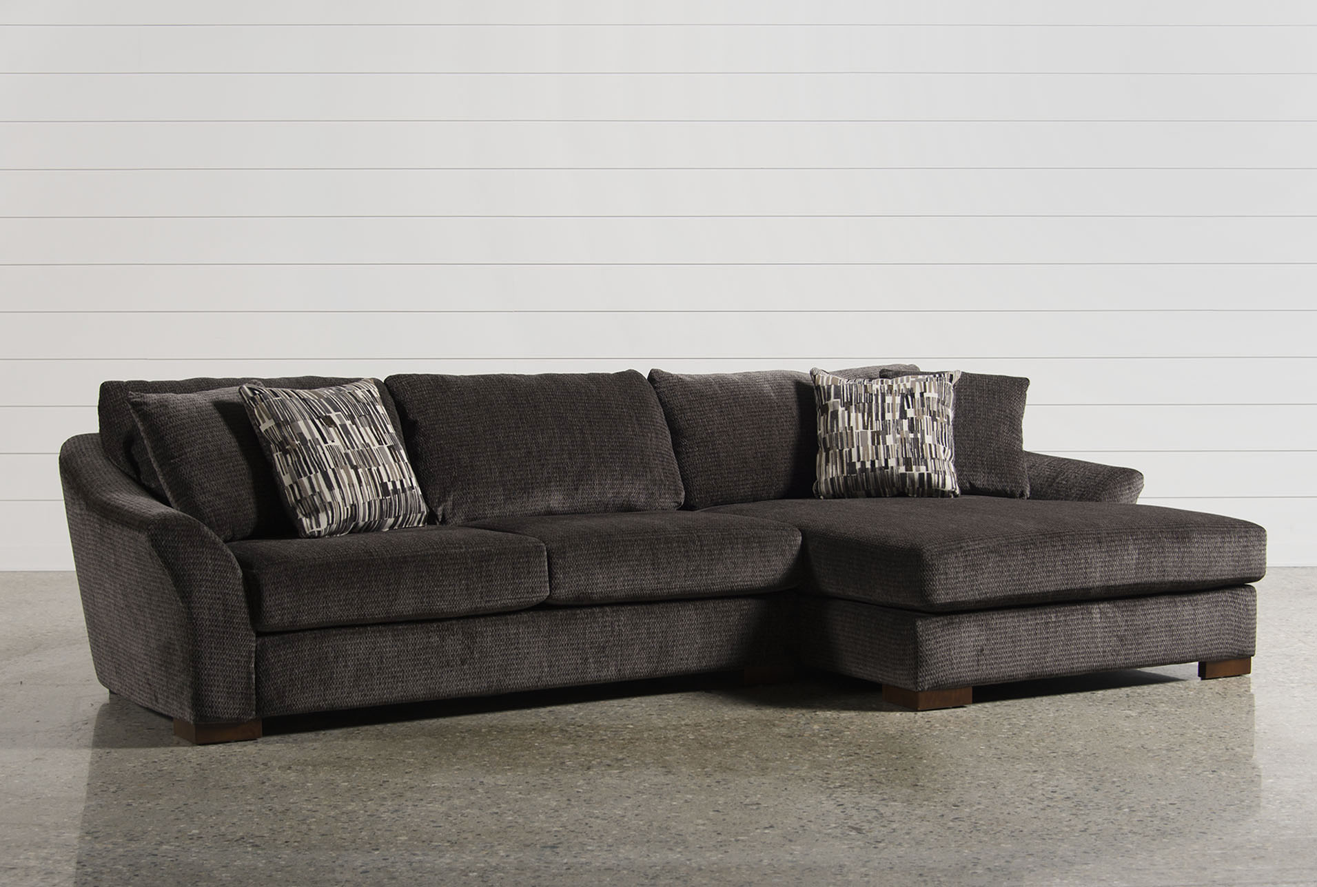 Exceptionnel Evan 2 Piece Sectional W/Raf Chaise   360