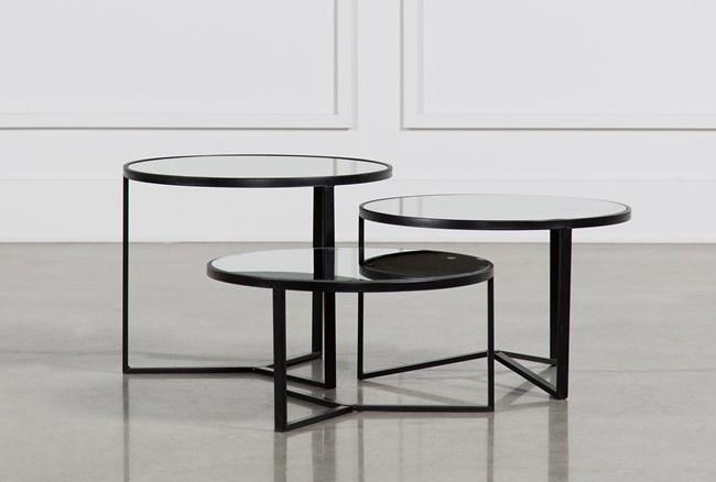 Fiona 3 Piece Bunching Coffee Table Set - 360