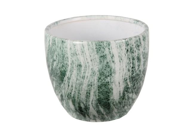 Green Marble Ceramic Bowl Large - 360