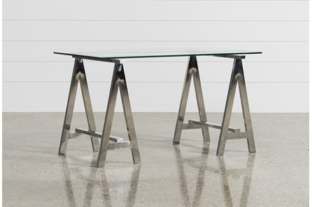 Jenica Glass Desk - Main