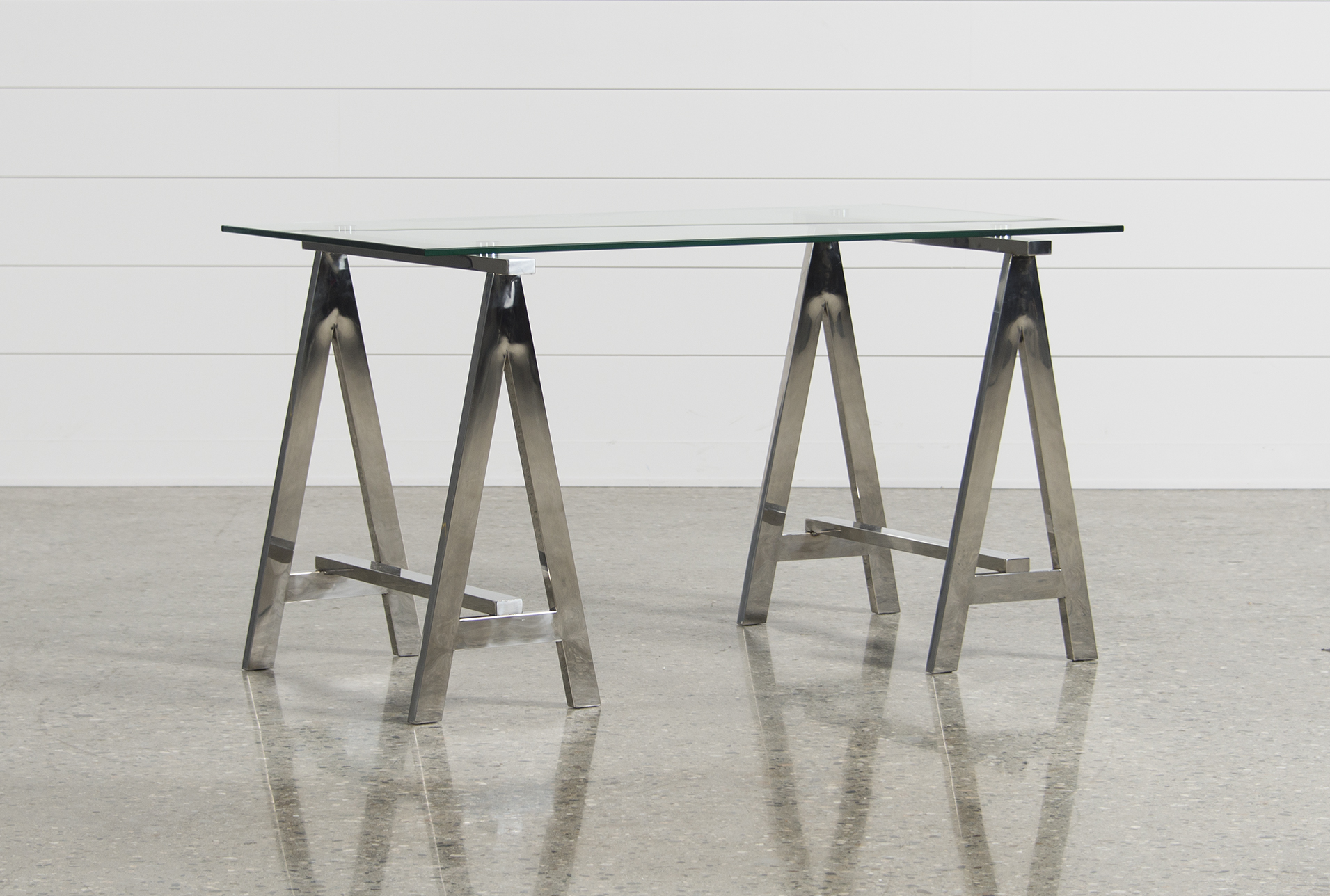 Jenica Glass Desk (Qty: 1) Has Been Successfully Added To Your Cart.