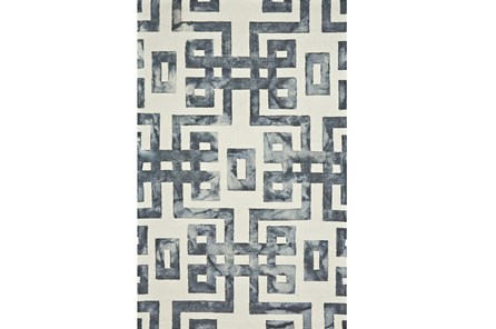 96X132 Rug-Tristen Charcoal - Main