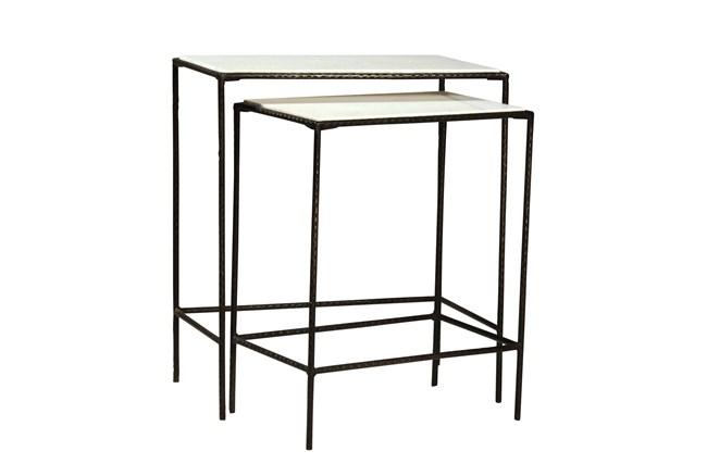 Petrova 2 Piece Nesting Tables - 360