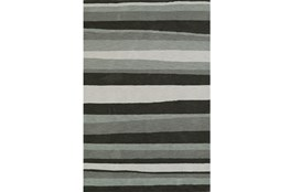 42X66 Rug-Charcoal Waves