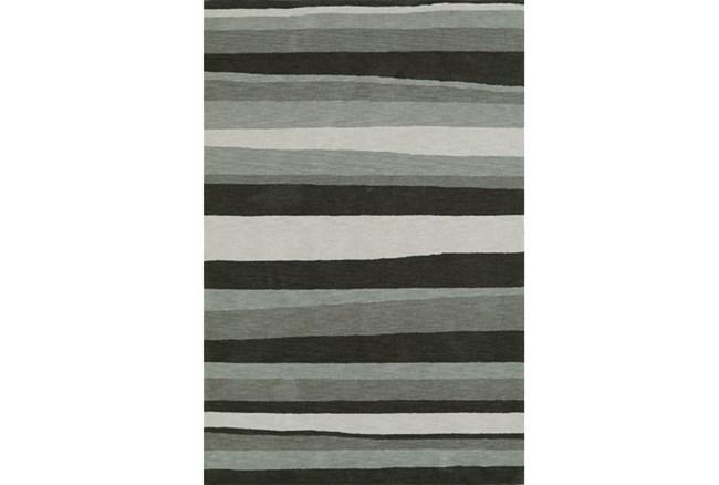 42X66 Rug-Charcoal Waves - 360