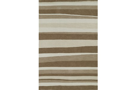 42X66 Rug-Taupe Waves