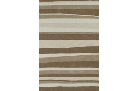 60X90 Rug-Taupe Waves