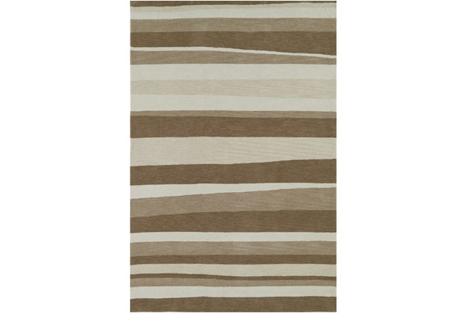 60X90 Rug-Taupe Waves - 360