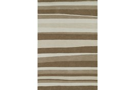 96X120 Rug-Taupe Waves