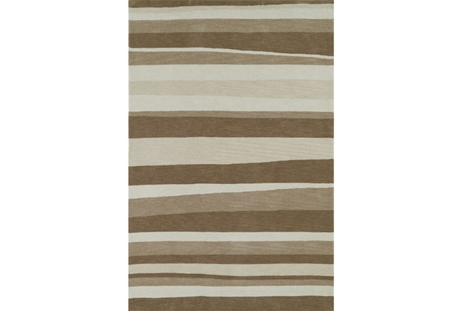 96X120 Rug-Taupe Waves - 360