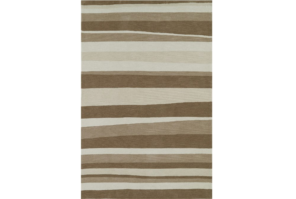 108X156 Rug-Taupe Waves