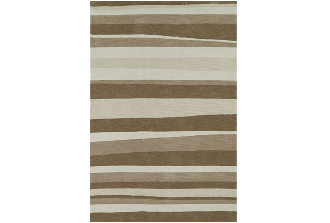 108X156 Rug-Taupe Waves - 360