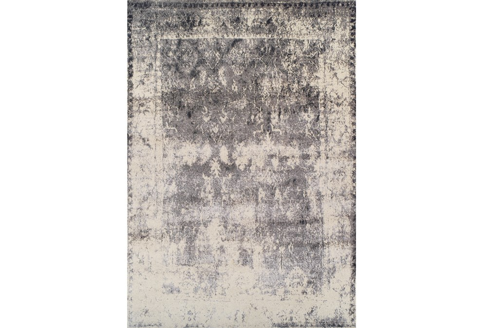 "5'3""x7'6"" Rug-Bowery Charcoal"