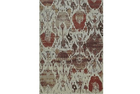 39X61 Rug-Ikat Sunset