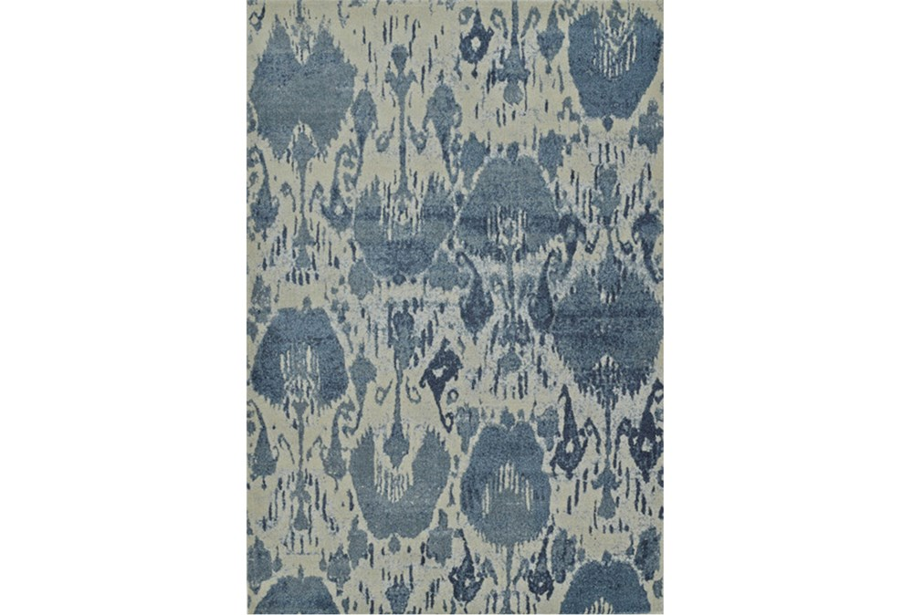 39X61 Rug-Ikat Denim