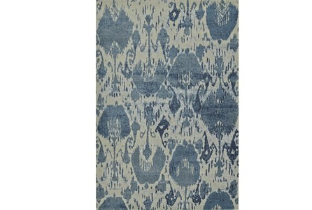 63X91 Rug-Ikat Denim