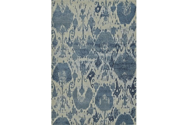 94X127 Rug-Ikat Denim - 360