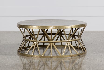 Copper Cocktail Table