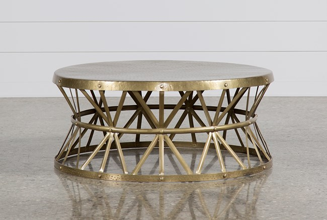 Copper Cocktail Table - 360