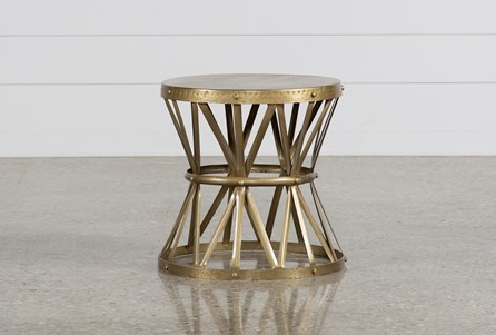 Copper End Table