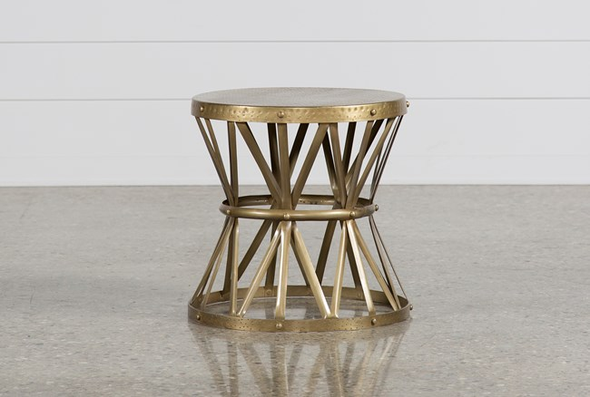 Copper End Table - 360