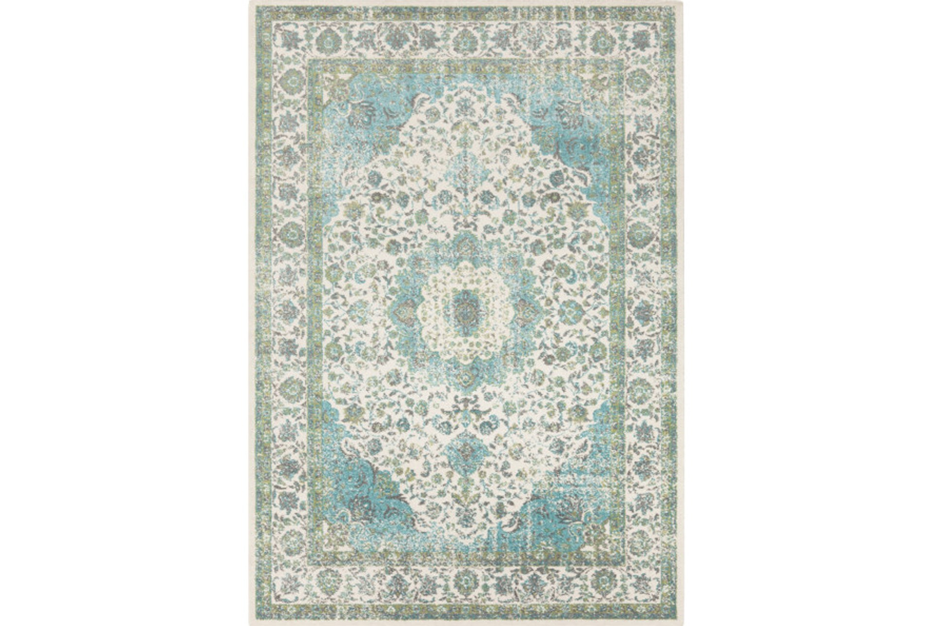 62x90 Rug Ketton Clic Teal Lime Qty 1 Has Been Successfully Added To Your Cart