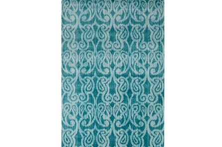 26X36 Rug-Ketton Blue Paisley