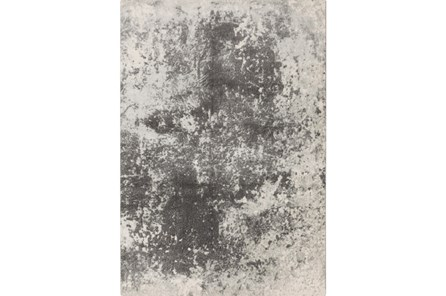 90X126 Rug-Ketton Abstract Light Grey