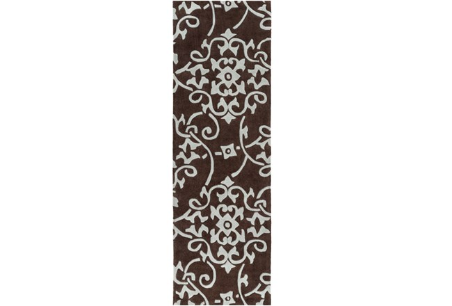 30X96 Rug-Colleen Brown - 360