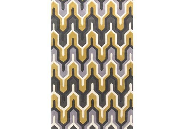 60X96 Rug-Marsha Gold/Charcoal - 360