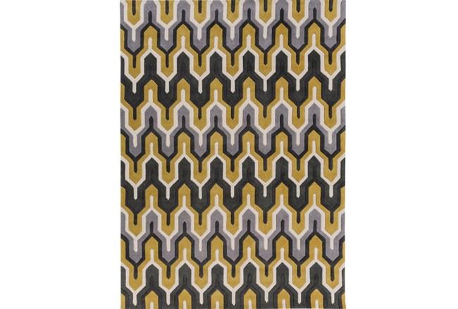 96X132 Rug-Marsha Gold/Charcoal - 360