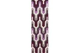 30X96 Rug-Marsha Eggplant