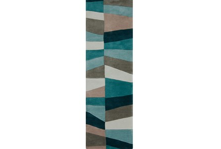 30X96 Rug-Trixie Teal