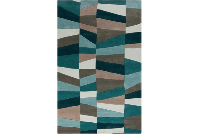 42x66 Rug Trixie Teal Living Spaces