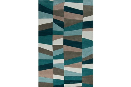 108X156 Rug-Trixie Teal