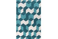 42X66 Rug-Crinkle Teal