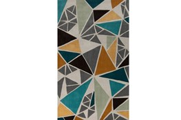 24X36 Rug-Trinity Grey/Gold/Teal