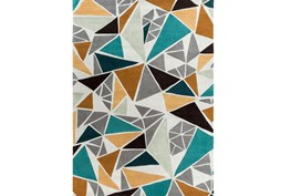 96X132 Rug-Trinity Grey/Gold/Teal