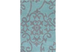 108X156 Rug-Colleen Teal/Slate