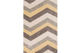 60X96 Rug-Ziggy Butter/Grey