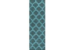 30X96 Rug-Ariel Teal