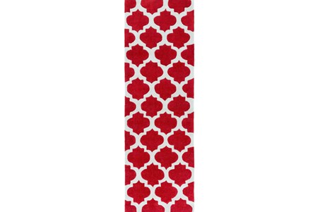 30X96 Rug-Ariel Red