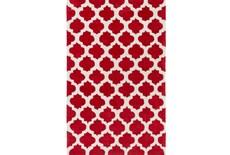 42X66 Rug-Ariel Red