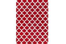 96X132 Rug-Ariel Red