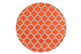 96 Inch Round Rug-Ariel Poppy